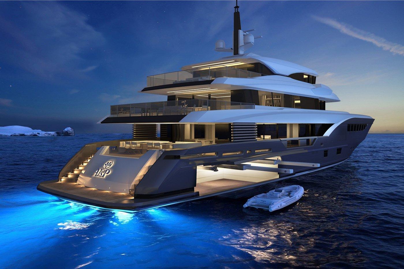 AISP 45 super motor yacht