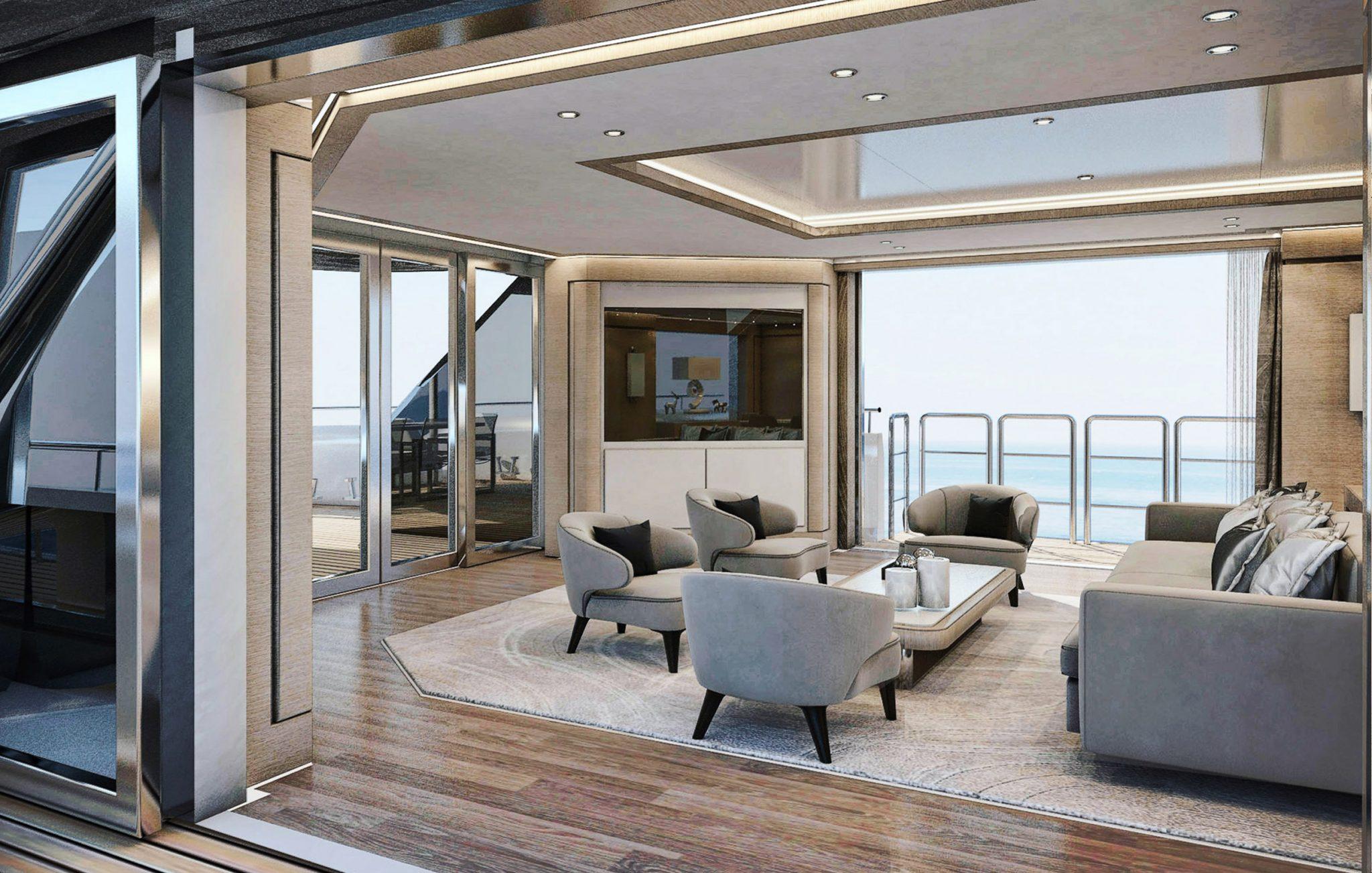 Sea Star luxury motor yacht 35 meter motor yacht Mengi Yay yachts Istanbul turkey yacht building