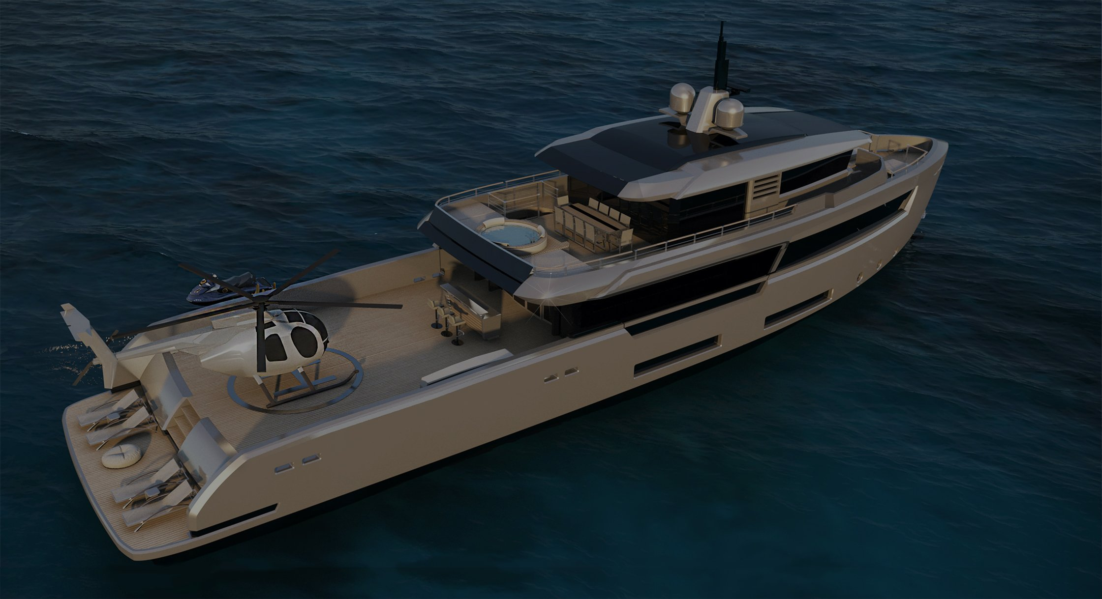 Atlas 38m for timeless yachts