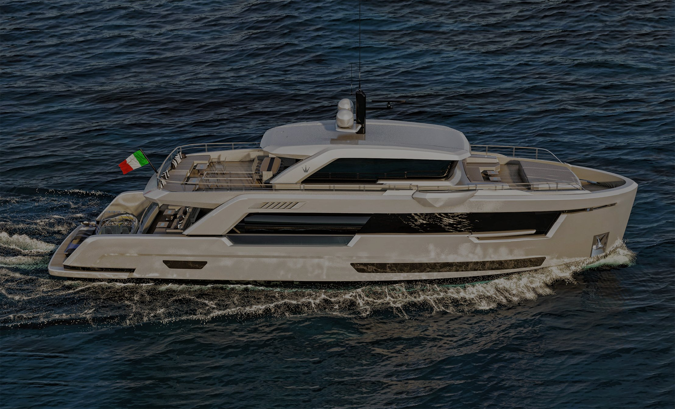 Ducale 88 Smaller sized explorer yacht First Image