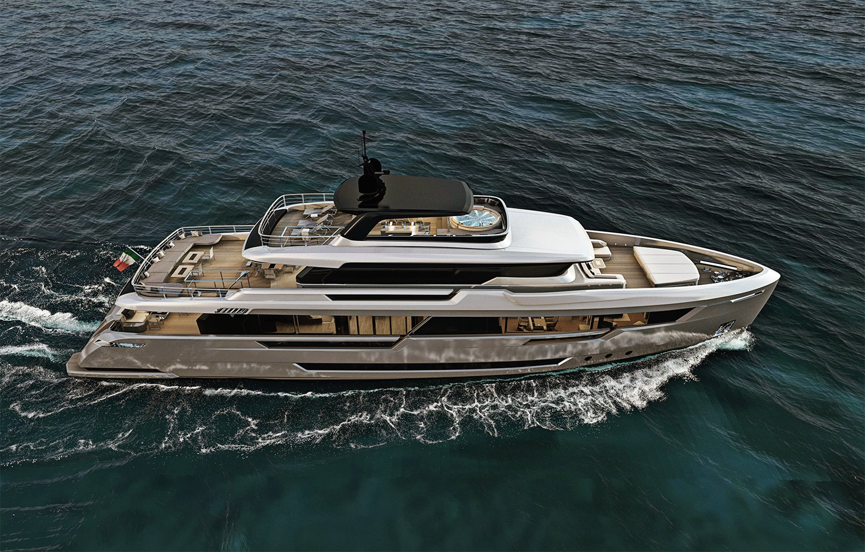 Filippetti Explorer Yacht E36 Motor yacht exterior design