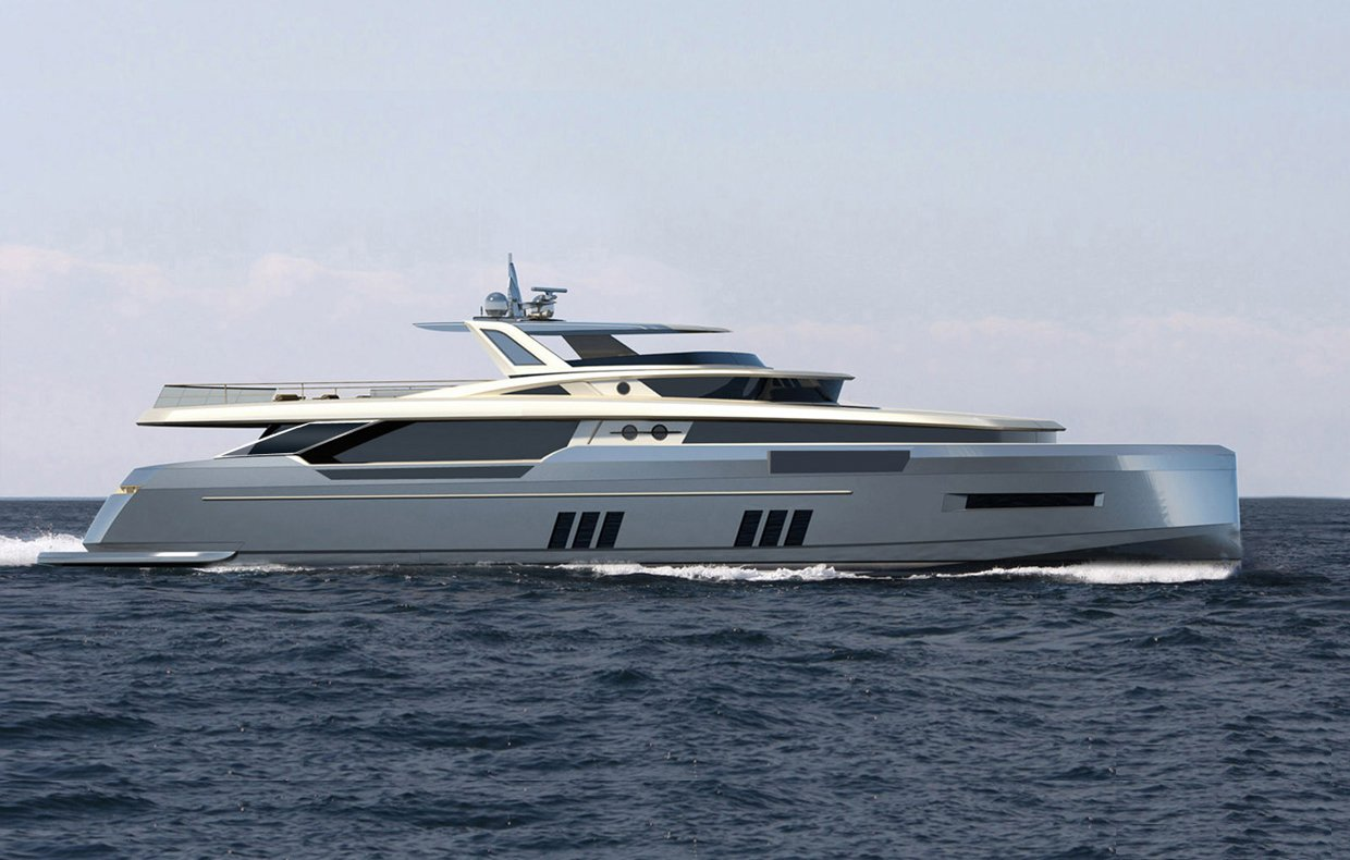 Goldwater 32 concept motor yacht