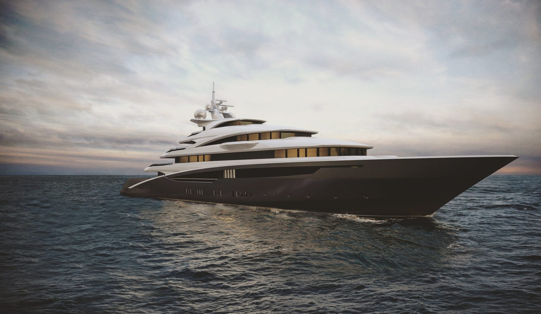 SEA STAR 85 luxury motor yacht designed for Oceanco Yacht