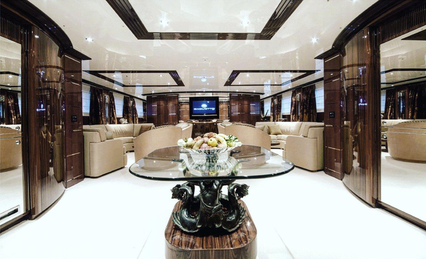Gitana 54 Interior Design super motor yacht